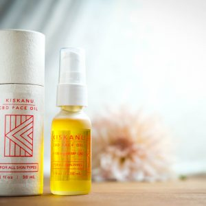 Kiskanu Hemp CBD Face Oil